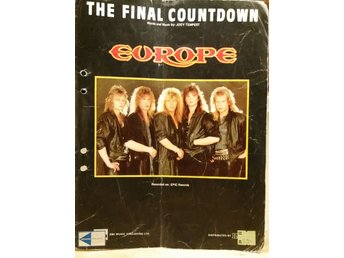 Europe.  Noter the final countdown.