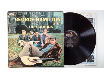 GEORGE HAMILTON IV - ON CAMPUS - MYCKET OVANLIG