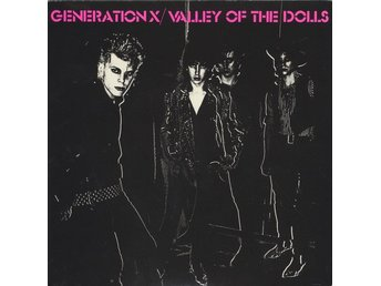 "Generation X 7"" Valley Of The Dolls / Shakin´ All Over - Brown Marbled"