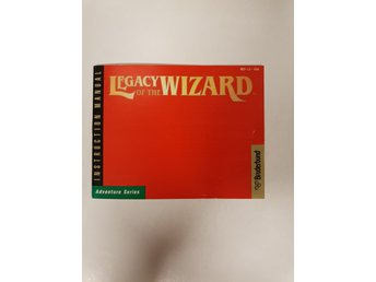 Legacy of the Wizard - Manual NES NINTENDO - USA