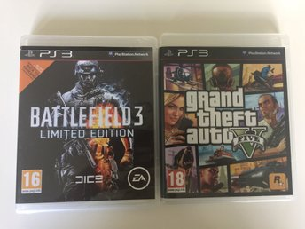 PS3 Battlefield 3 & Grand theft auto