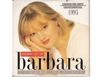 Eurovision 1993 Belgium: Barbara – Somebody Like You/Iemand als jij – CD-Single