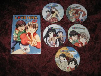 LOVE HINA - THE ULTIMATE COLLECTION (5-DISC DVD)