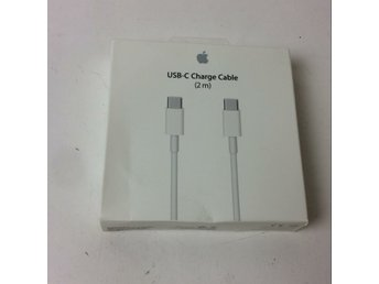 Apple, USB-kabel, Strl: 2m, USB C-kabel, Vit