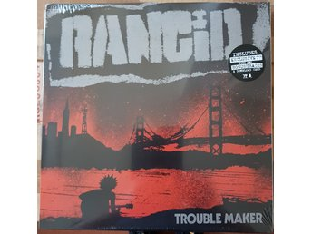 "Rancid ""Trouble maker"" LP+7"""