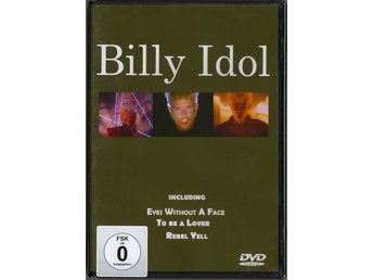 BILLY IDOL - The Clips - DVD (INPLASTAD)