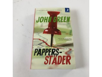Bok, Pappersstäder, John Green, Pocket, ISBN: 9789175033600, 2014
