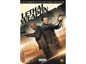 Ny & Inplastad Lethal Weapon Säsong 2 (4 disc) DVD