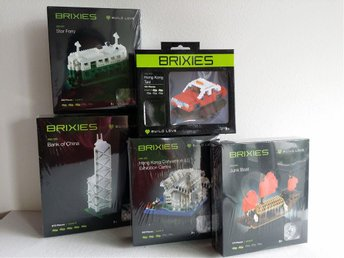 Brixies Hong Kong Sight to See Landmark Mini Building Bricks Sets of 5 BRAND NEW - Mainz - Brixies Hong Kong Sight to See Landmark Mini Building Bricks Sets of 5 BRAND NEW - Mainz