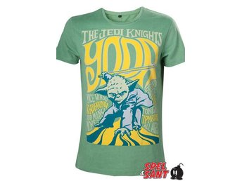 Star Wars Yoda Jedi Knights T-shirt Grön (Large)