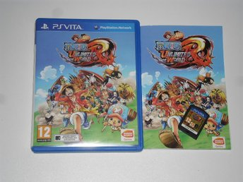 PlayStation VITA: One Piece: Unlimited World Red