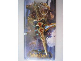 WOW World of Warcraft Vapen Nyckelring - Blood Elf 3 - Stockholm - WOW World of Warcraft Vapen Nyckelring - Blood Elf 3 - Stockholm