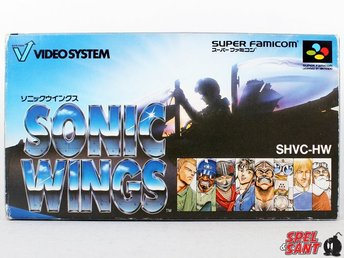 Sonic Wings (inkl. Skyddsbox & Japansk Version)
