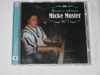 MICKE MUSTER     THE ROCK N ROLL COVERS  VOL 3    CD
