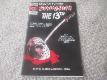 Samurai Funnies #2 featuring Samurai the 13th, 1987