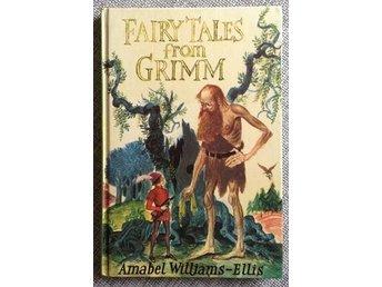 Fairy Tales from Grimm. Tolv sagor i en bok - engelsk text. - Råå - Fairy Tales from Grimm. Tolv sagor i en bok - engelsk text. - Råå