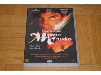Greven Av Monte Cristo ( Jim Caviezel Guy Pearce Richard Harris ) DVD - Töre - Greven Av Monte Cristo ( Jim Caviezel Guy Pearce Richard Harris ) DVD - Töre