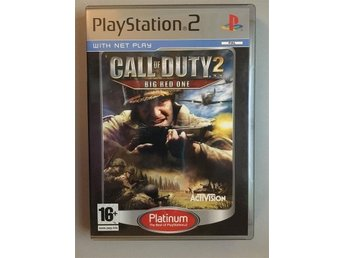 COD 2 Big red one, fint skick! PS2 Playstation 2 Play station Call of duty