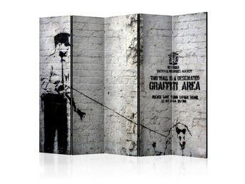 Rumsavdelare - Graffiti Area Room Dividers 225x172