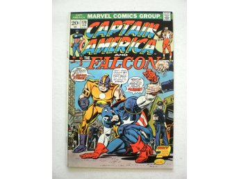 US Marvel - Captain America vol 1 # 170 in 8.0