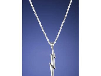 Harry Potter Hängsmycke Lightning Bolt Silver