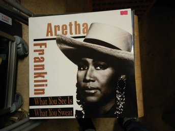 Aretha Franklin - What You See Is What You Sweat, LP
