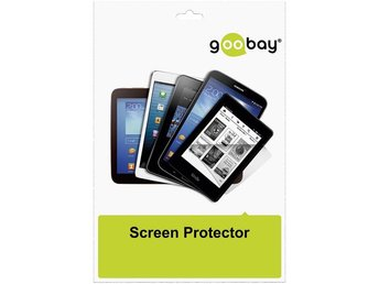 Screen protector foil, skärmskydd Galaxy Tab 4 10.1, 2-pack, transpar