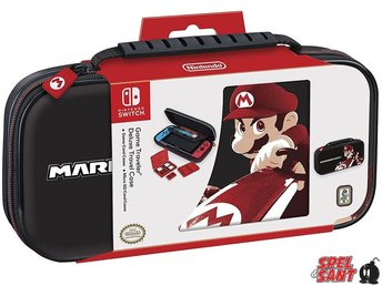 Nintendo Switch Mario Kart 8 Deluxe Travel Case Svart