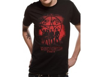 SUPERNATURAL - SYMBOL AND GROUP (UNISEX)  T-Shirt - Extra-Large