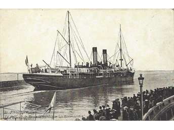 "French Liner "" LA NORMANDIE """