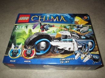 Lego Chima, Eglor´s twin bike (70007)