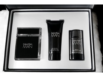 Calvin Klein MAN EdT 50 ml + After Shave Balm 100 ml + Deodorant 75 g + GÅVA
