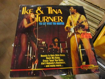 IKE & TINA TURNER - YOU GOT WHAT YOU WANTED - LP
