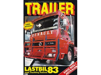 Trailer 1983-6 Scania-Vabis LBS 76..Road Train Australien