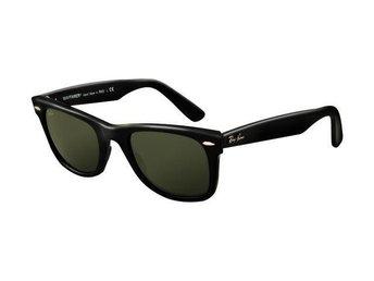 Ray Ban RB2140 Wayfarer Sunglasses Black Frame Crystal Green Lens- made in Italy - Bangkok - Ray Ban RB2140 Wayfarer Sunglasses Black Frame Crystal Green Lens- made in Italy - Bangkok
