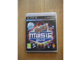 BUZZ Music Quiz - PS3