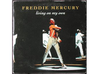 FREDDIE MERCURY - LIVING ON MY OWN CD-SINGEL