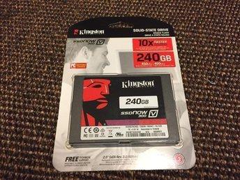 "Kingston 240GB SSDNow V300 SATA3 2,5"" - 450/450 MB/s / Ny / Oöppnad - Bandhagen - Kingston 240GB SSDNow V300 SATA3 2,5"" - 450/450 MB/s / Ny / Oöppnad - Bandhagen"