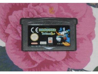 GBA / Gameboy Advance: Donald Duck Advance - Stockholm - GBA / Gameboy Advance: Donald Duck Advance - Stockholm