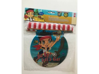 Disney Jake Vimpel / Girlang Never land Pirates