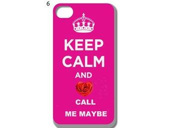 Keep Calm iPhone 5-5S Skal D5 - Kista - Keep Calm iPhone 5-5S Skal D5 - Kista
