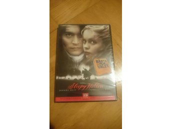 dvd SLEEPY HOLLOW (Johnny Depp) - Norrköping - dvd SLEEPY HOLLOW (Johnny Depp) - Norrköping