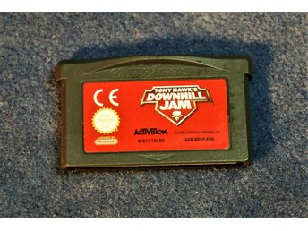 TV-SPEL   GAMEBOY ADVANCE   TONY HAWKS   DOWNHILL JAM   ENGELSK TEXT FINT SKICK