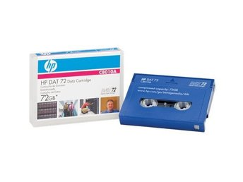 HP DAT 72 (72GB 170m) Data Cartridge C8010A Helt nytt!
