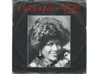 GWEN JONAE - RED LIGHT LOVER   ( VINYL SINGLE )