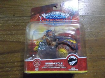 Skylanders Superchargers Fordon burn cycle burncycle oöppnad