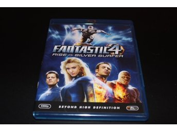 Blu-ray: Fantastic4 - Rise of the silver