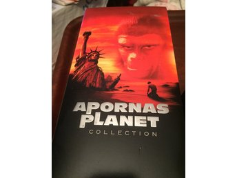 Apornas Planet Collection/Samling  3st VHS