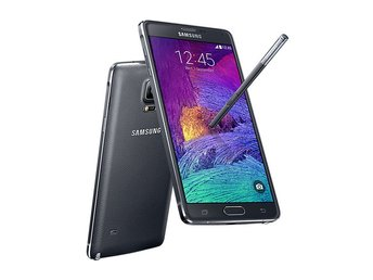 Samsung Galaxy Note 4 32GB, svart, charcoal black, RIMLIGT SKICK