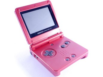 Game Boy Advance SP Console (Flame Red) -